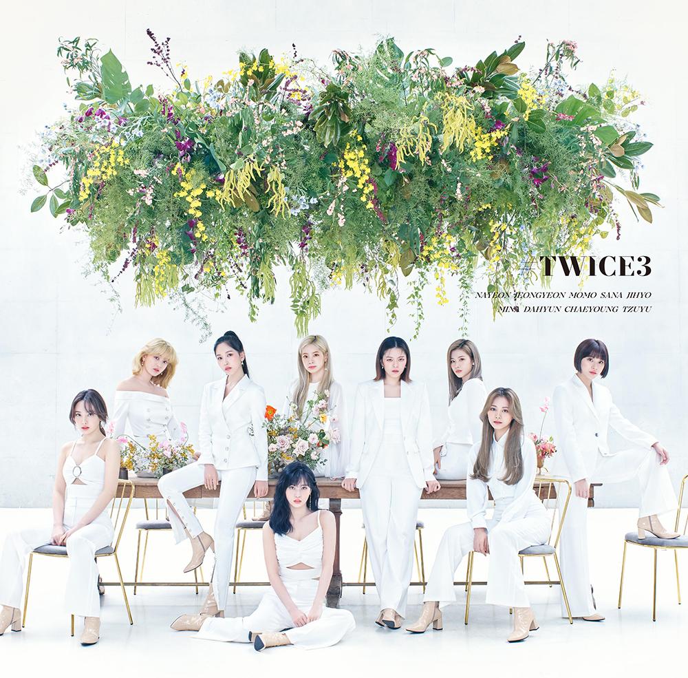 TWICE(트와이스) 3rd BEST ALBUM『#TWICE3』9월 16일 발매 (아티스트 사진 & 자켓 & 트랙)