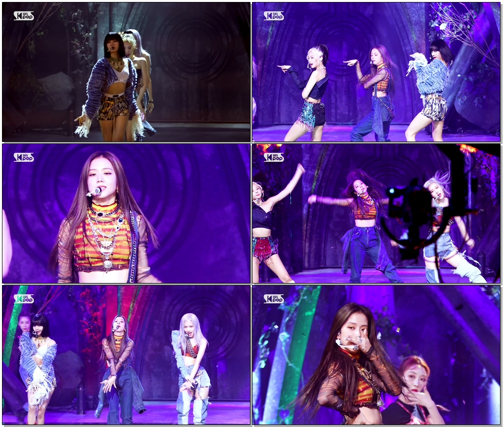 #BLACKPINK #JISOO #블랙핑크 #지수 'How You Like That' (BLACKPINK JISOO FaceCam)│@SBS Inkigayo_2020.6.28