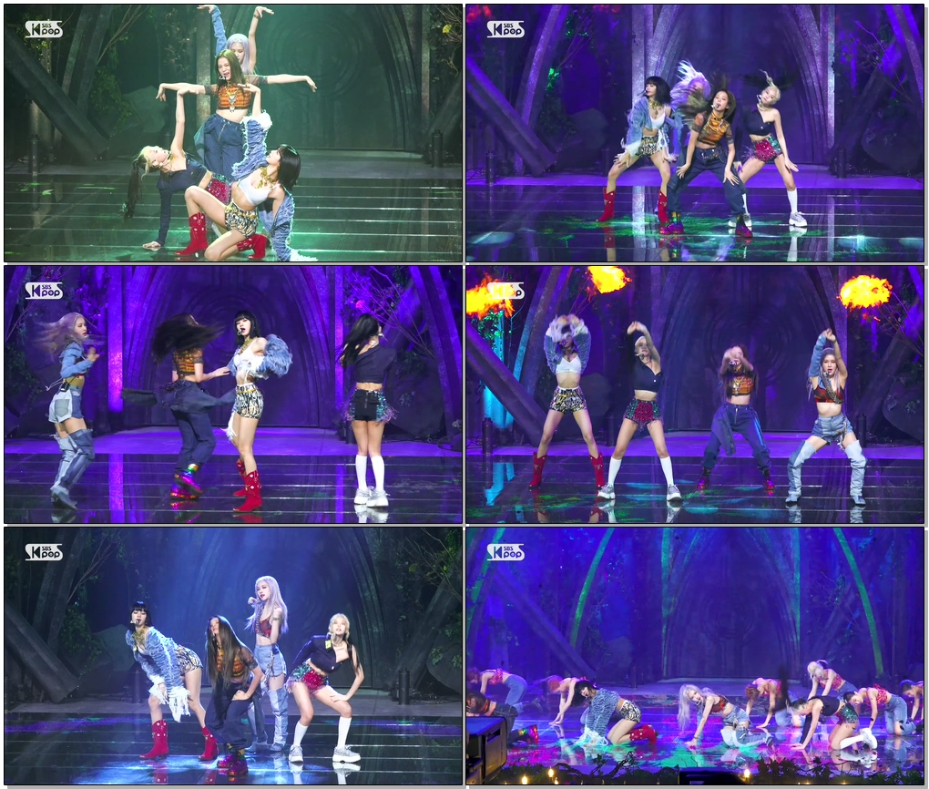 #블랙핑크 'How You Like That' 풀캠 (BLACKPINK Full Cam)│@SBS Inkigayo_2020.6.28