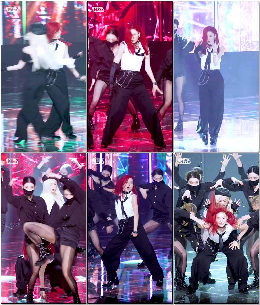 레드벨벳 슬기 'Monster' (IRENE & SEULGI SEULGI FanCam)│@SBS Inkigayo_2020.7.12