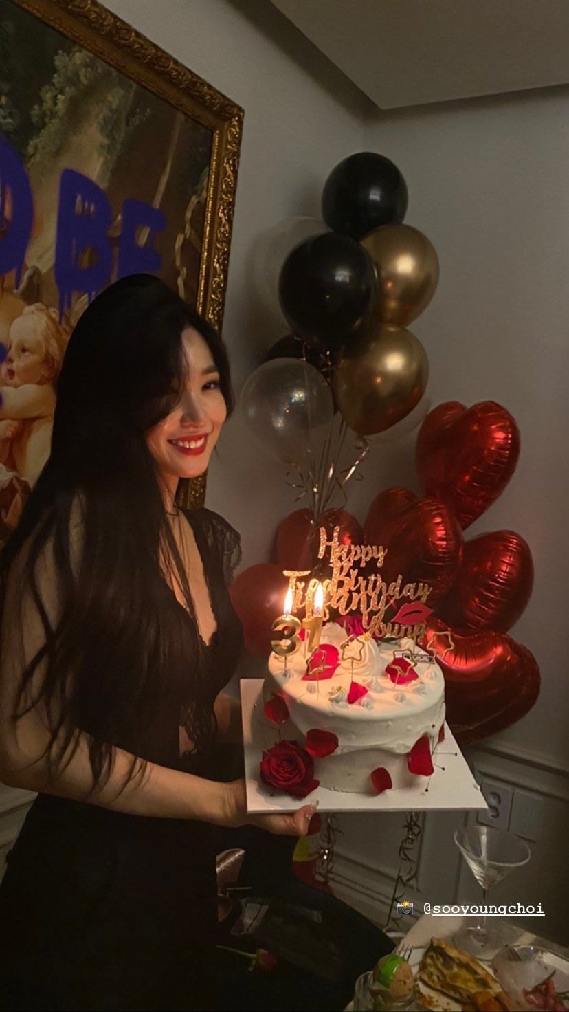 소녀시대 티파니 생일 파티