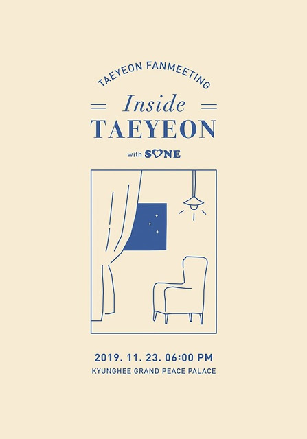 2019 TAEYEON FANMEETING 'Inside' - TAEYEON with S♡ON