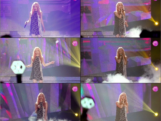 [슈퍼콘서트 in HK 직캠] #태연 '사계' (#TAEYEON 'Four Seasons' #FaceCam)│@SBS SUPER CONCERT IN HONGKONG