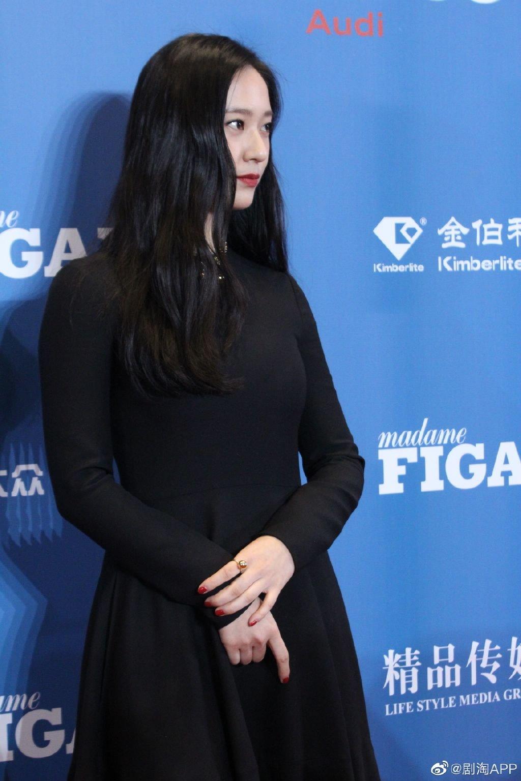 중국 패션행사 참석한 크리스탈(정수정)