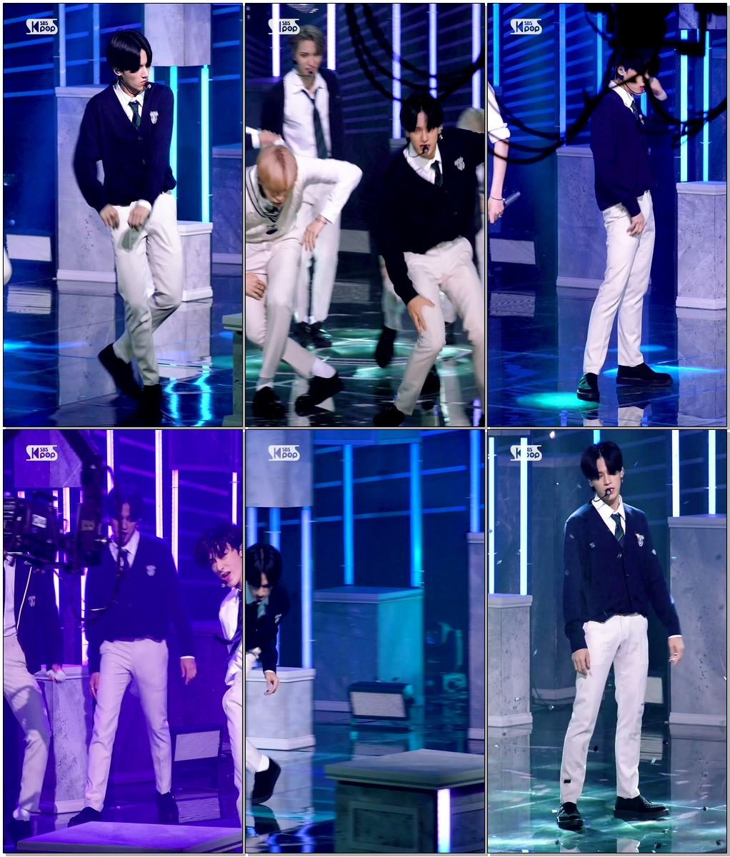 에이티즈 정우영 'INCEPTION'(ATEEZ JUNG WOO YOUNG FanCam)│@SBS Inkigayo_2020.08.02.