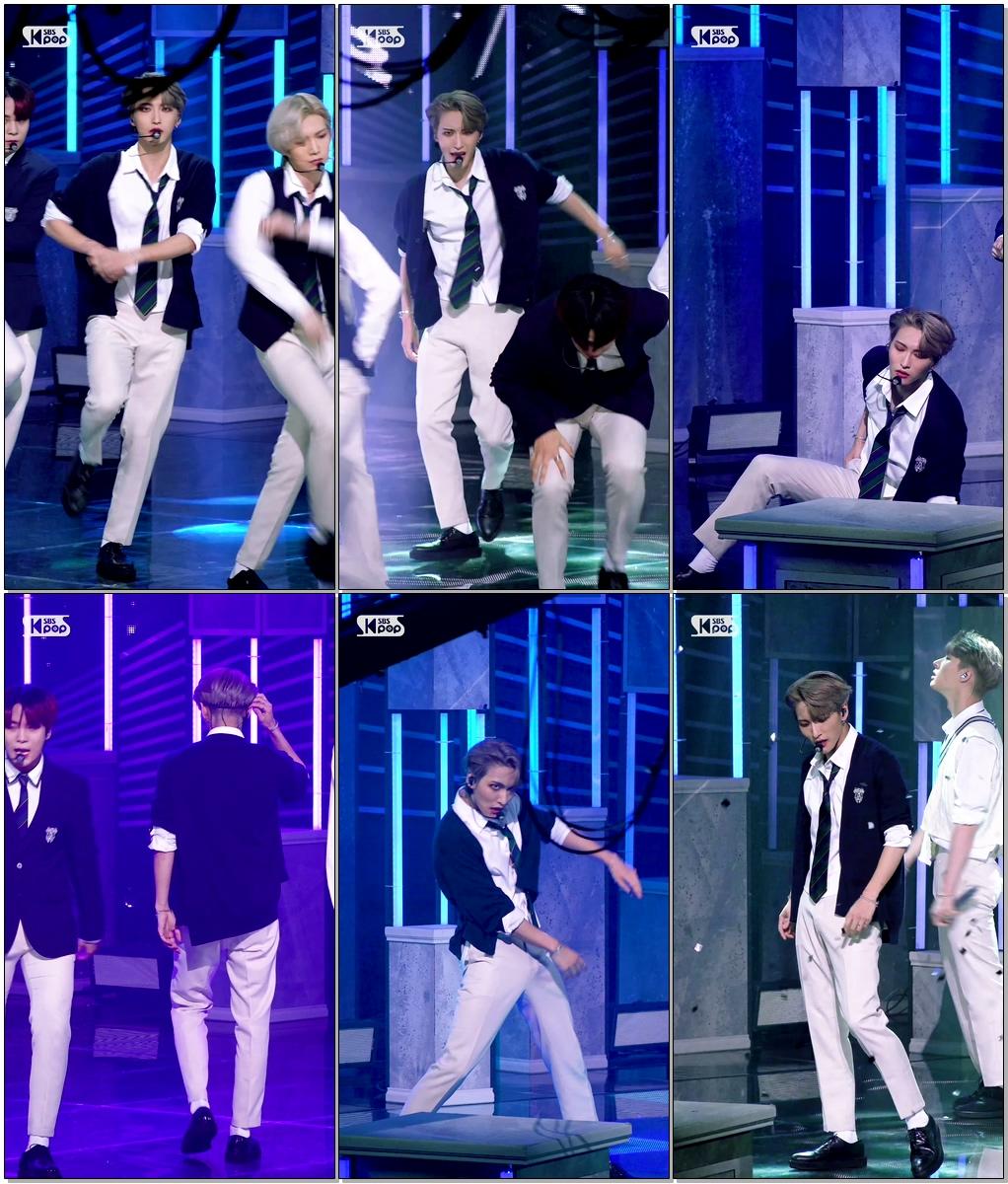 에이티즈 박성화 'INCEPTION'(ATEEZ PARK SEONG HWA FanCam)│@SBS Inkigayo_2020.08.02.