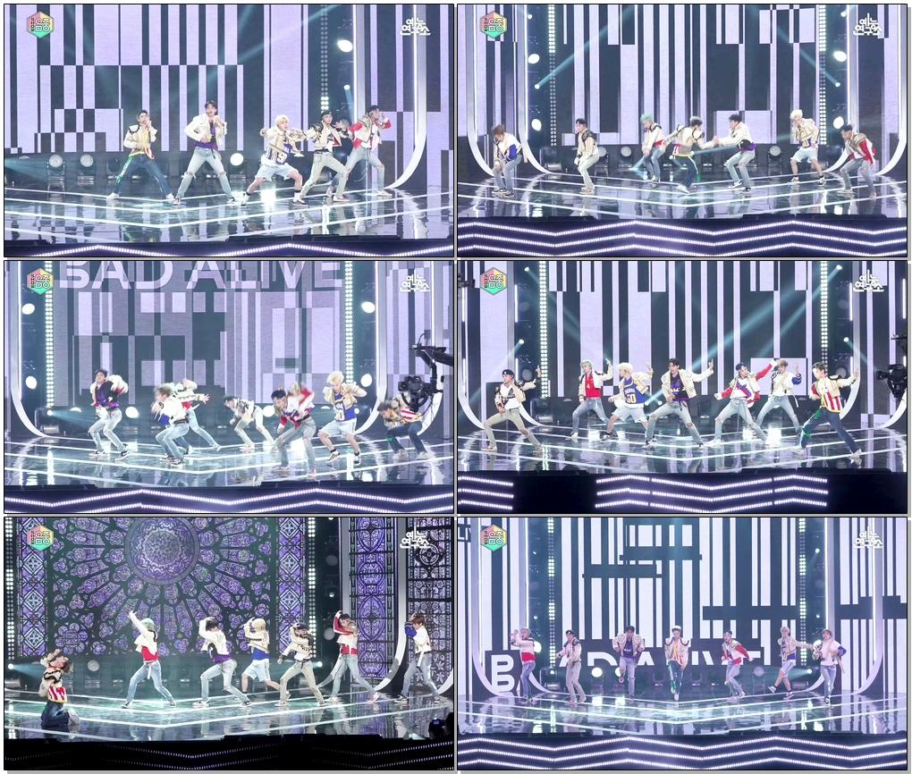 웨이션브이 직캠 'Bad Alive(English Ver.)' (WayV, 威神V FanCam) @Show!MusicCore 200801