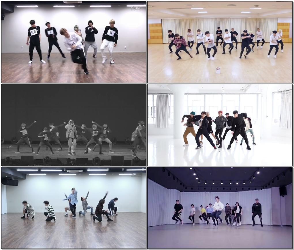 [#BTS #방탄소년단 #防彈少年團] 세븐틴 vs 방탄소년단 퍼포먼스 칼군무 비교