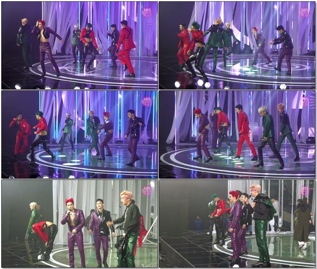 엑소 'Obsession' 풀캠 (EXO Side FanCam)│@SBS Inkigayo_2019.12.8