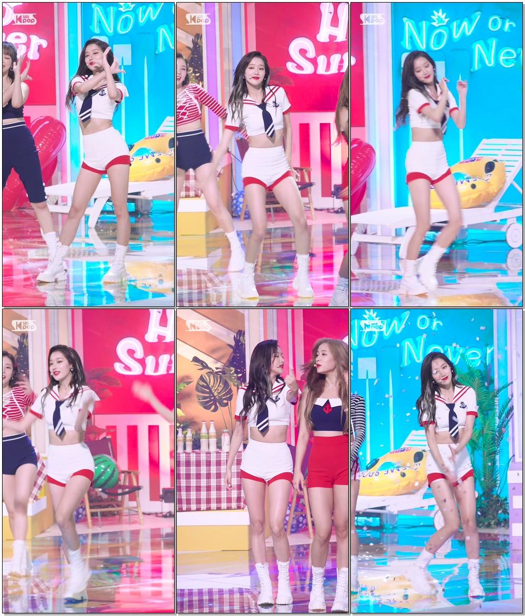 에이프릴 이나은 'Now or Never' (APRIL LEE NAEUN FanCam)│@SBS Inkigayo_2020.08.02