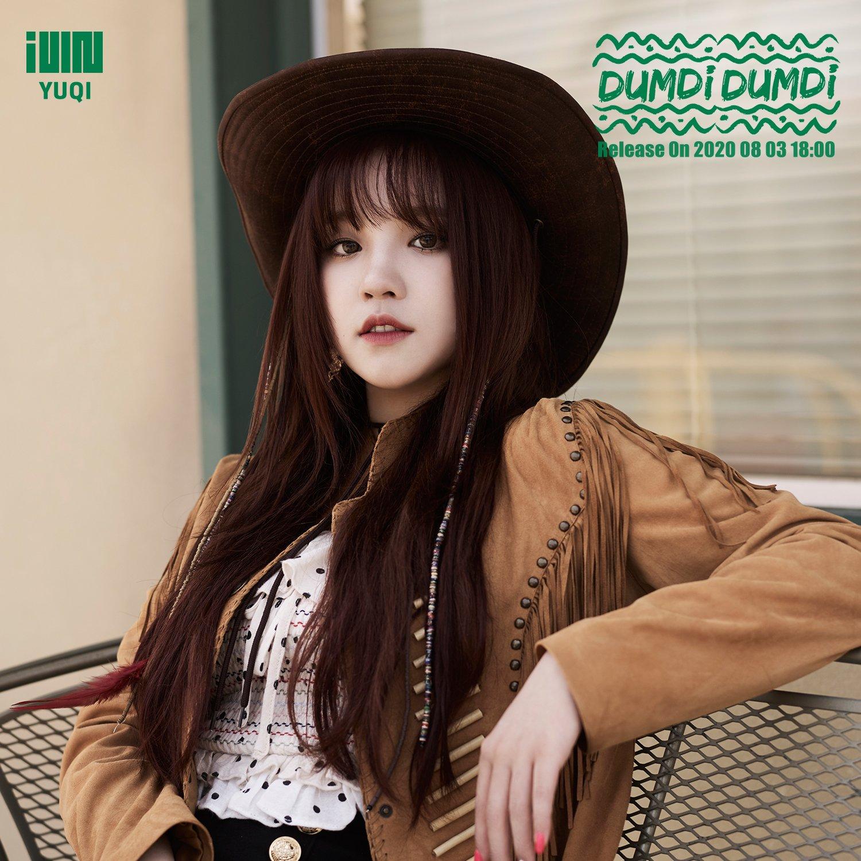 (G)I-DLE (여자)아이들 Single [덤디덤디 (DUMDi DUMDi)] Concept Image - 우기 (YUQI)