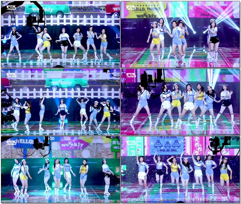 위클리 'Hello' (Weeekly Full Cam)│@SBS Inkigayo_2020.7.26