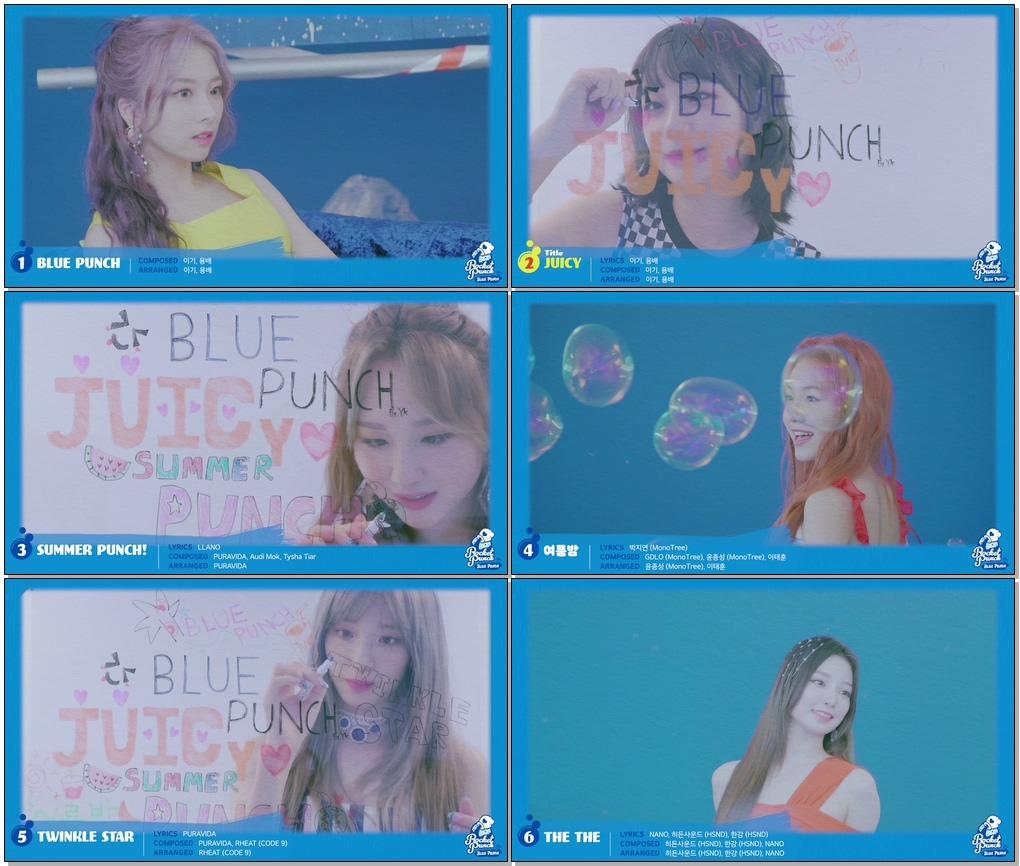 #RocketPunch #로켓펀치 #BLUE_PUNCH 로켓펀치(Rocket Punch) [BLUE PUNCH] Highlight Medley