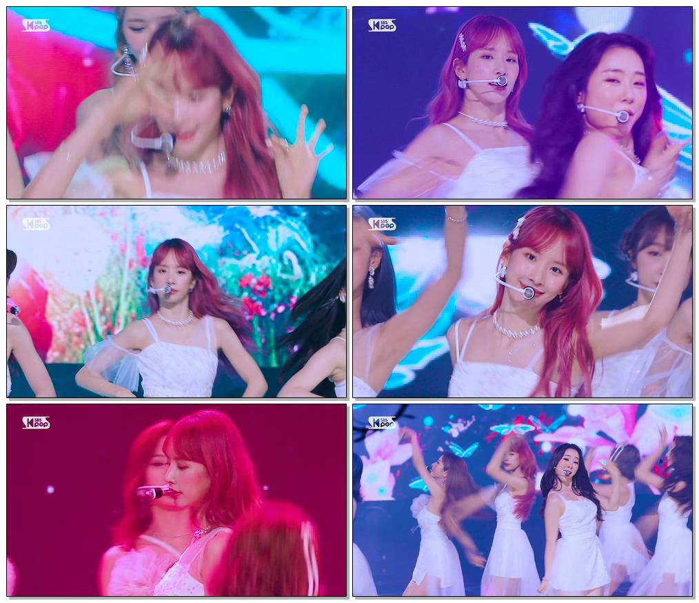 #우주소녀 설아 'BUTTERFLY' (WJSN SEOLA FaceCam)│@SBS Inkigayo_2020.6.21