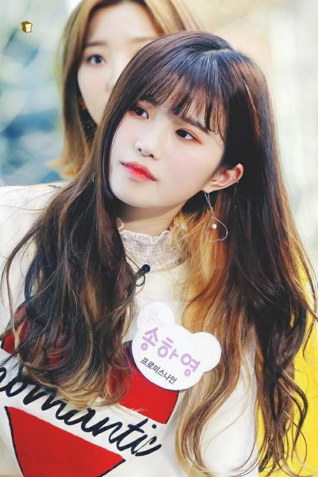 이제 곧 자체 예능에서 보게될 #프로미스나인 송하영